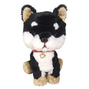 日本PUPS可愛玩偶柴犬黑色仿真小狗絨毛毛絨玩具狗聖誕節禮物狗雜貨生日禮物紀念日小孩情侶送禮