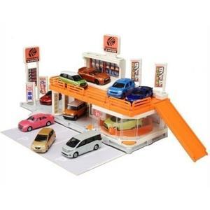 TOMICA 交通世界 新城鎮-BUILD CITY 城鎮AUTOBACKS_TW10492(不含小車) TAKARA TOMY