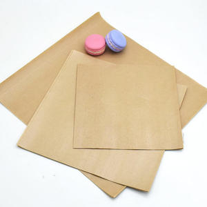 195張 牛皮漢堡包装纸 淋膜防油防水紙 蛋糕 西點托盤紙漢堡纸餐盤纸防油纸包装油纸白報紙K059
