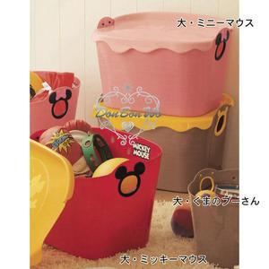 迪士尼米奇米妮收納箱日本製奶油融化附蓋301243通販屋