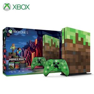 【Microsoft 微軟】XBOX One S 1TB 特別版《我的世界》同捆組