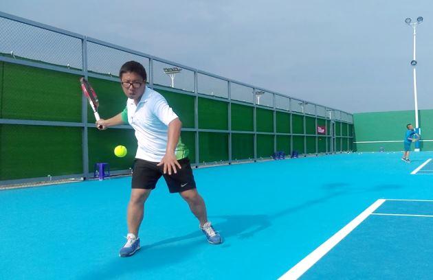 丹尼斯台中網球教學中心