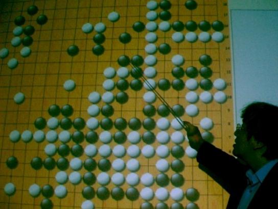 員林敲玉圍棋