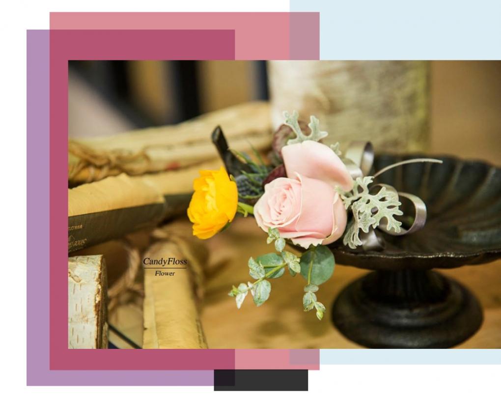 棉花糖花藝 甜點下午茶
