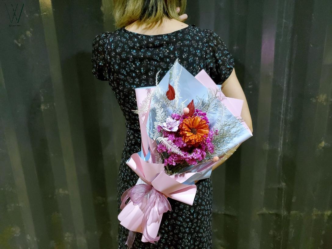 台東乾燥花-花\