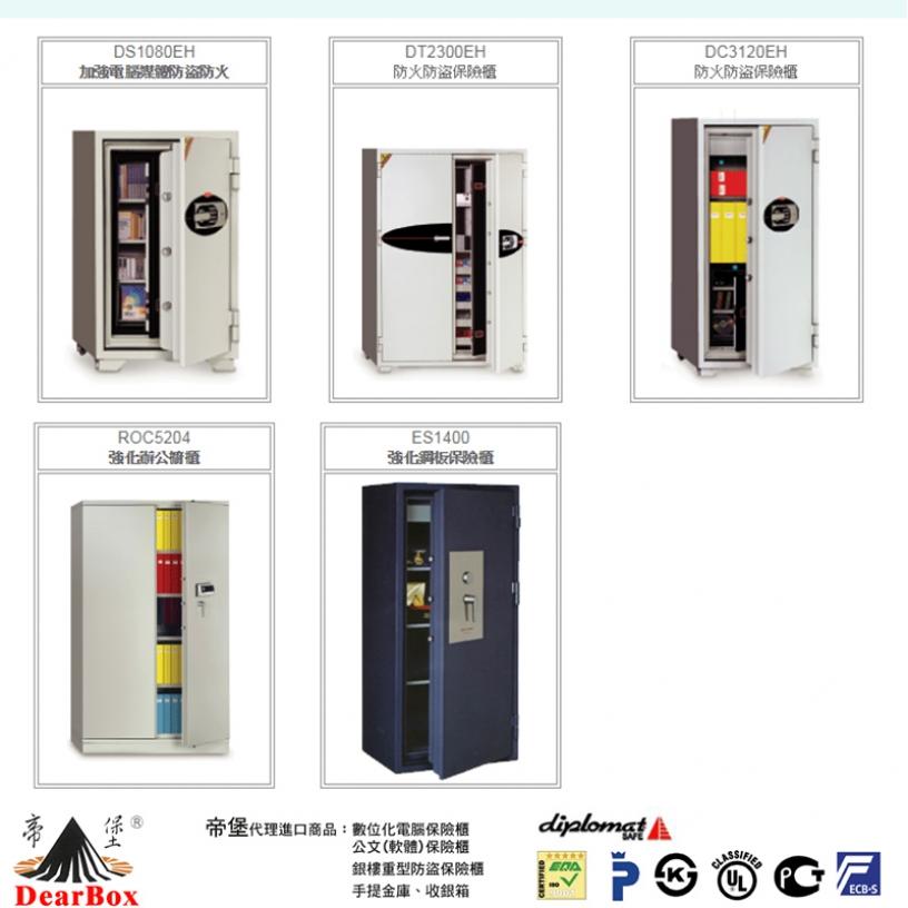 帝堡進口電腦型保險櫃