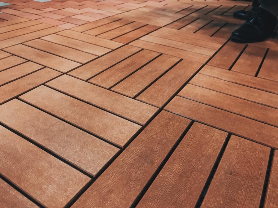 樹禧生活 鑲台環保塑木地墊