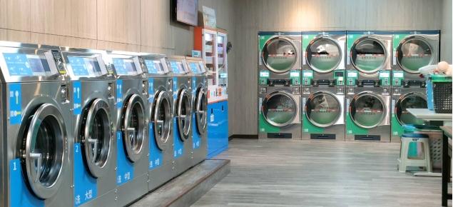 愛衣淨自助洗衣設備加盟