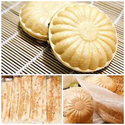 白色麥芽餅茯苓糕