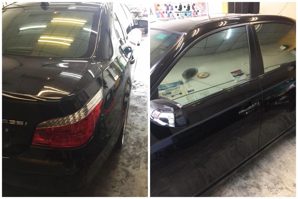 南投埔里洗車-晶水鈾鍍膜汽車美容