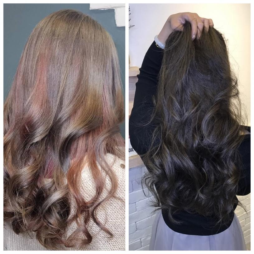 雷瓦-台中西區美甲美髮接髮髮廊