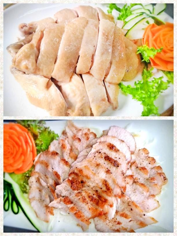 新麻竹園野菜山產料理