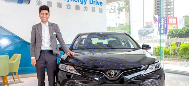 Toyota閻渠文豐田汽車銷售業務