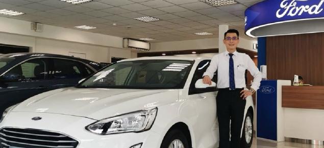 Ford福特新北業務傅彥凱