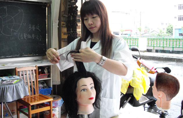 美如玉美容美髮理髮補習班