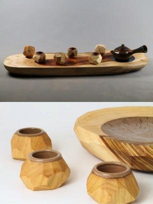 心藝十三生活創藝/手作陶製 木頭雕刻