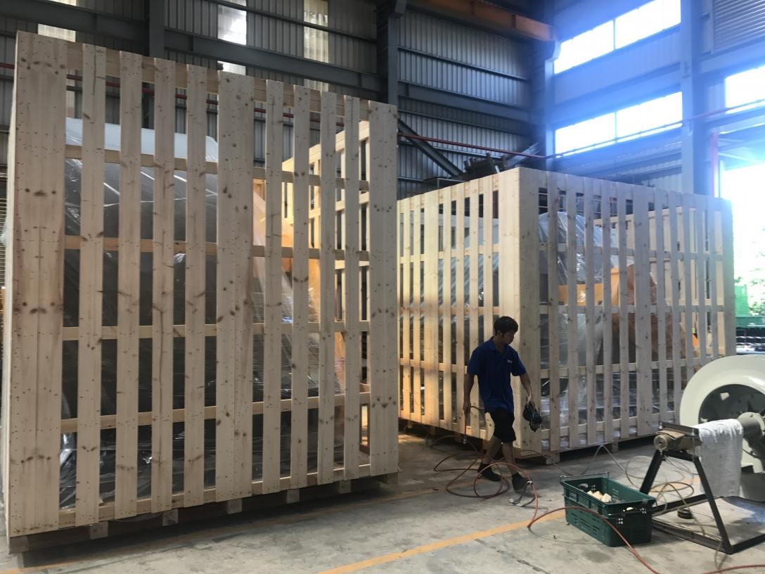 台南木箱、台南墊板訂做-龍興木箱