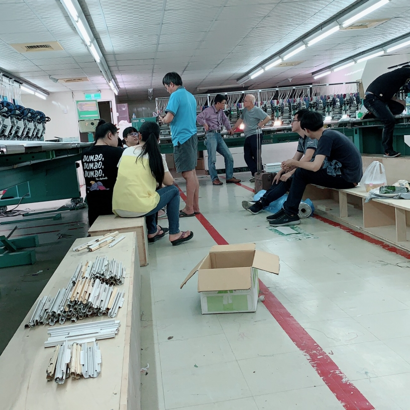 奇美刺繡-台北刺繡工廠一條龍製作