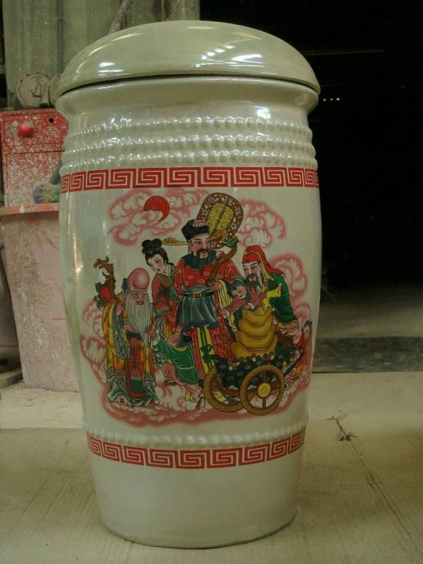新泰成陶瓷 南投 米甕 茶葉甕 荷花盆