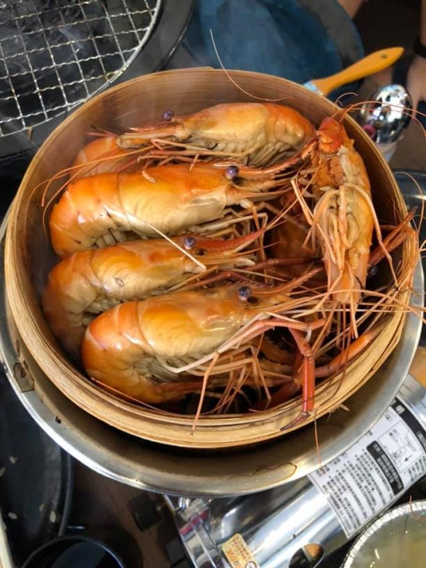 金馬水道蝦 彰化 泰國蝦 吃到飽