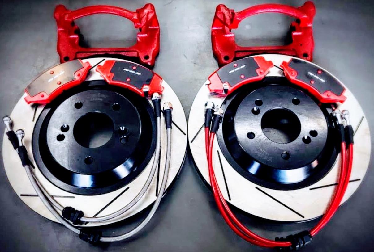 KRX高性能汽車煞車零件多活塞卡鉗系統