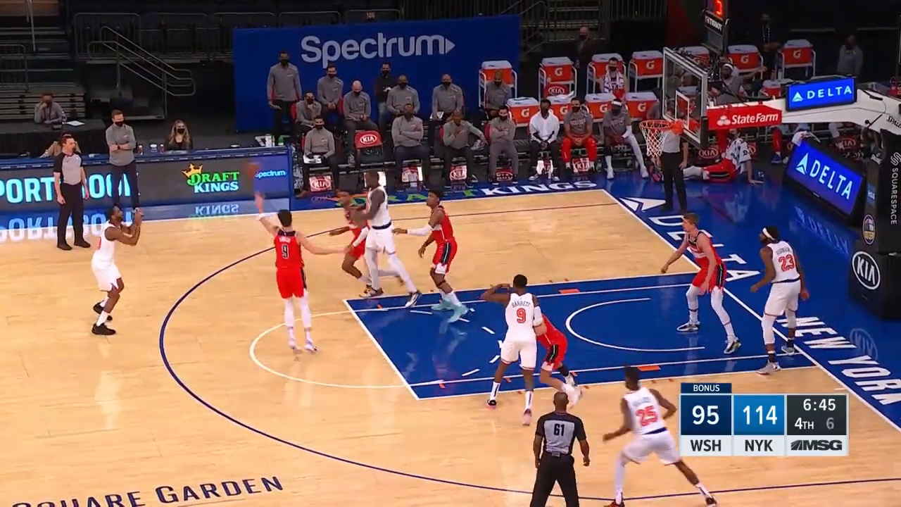 WIZARDS at KNICKS   FULL GAME HIGHLIGHTS   March 23, 2021
