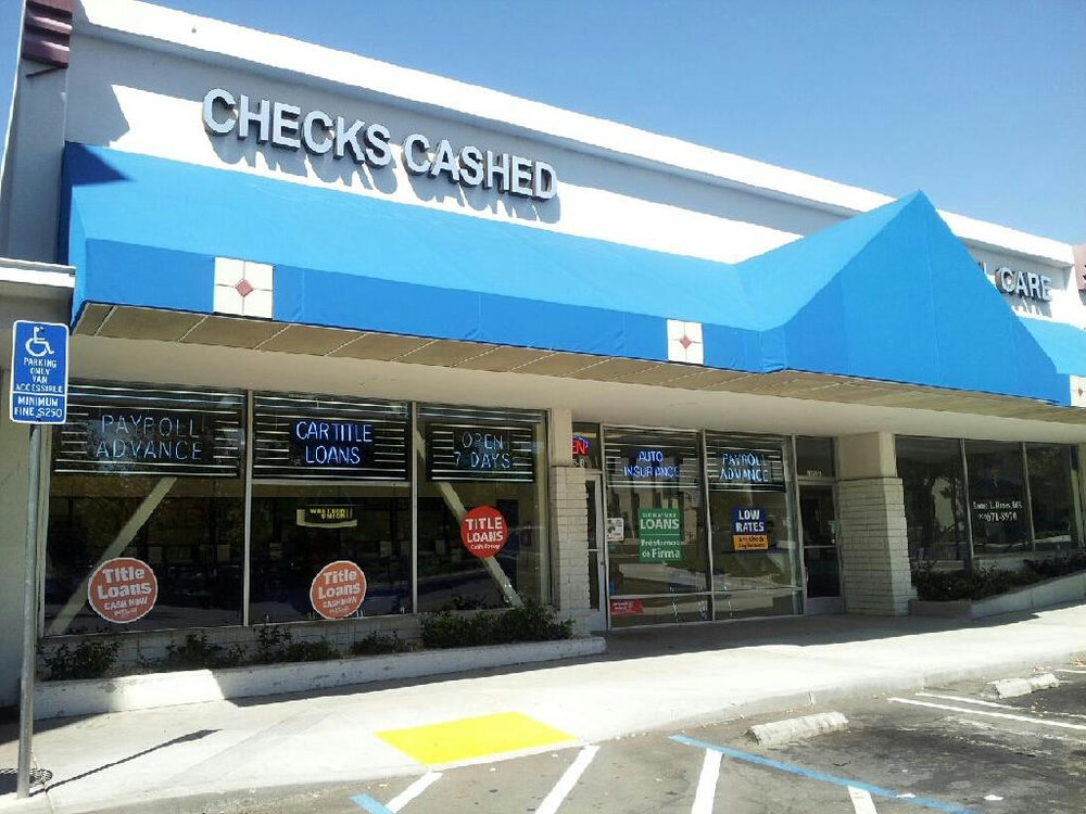 California Check Cashing Stores In Concord