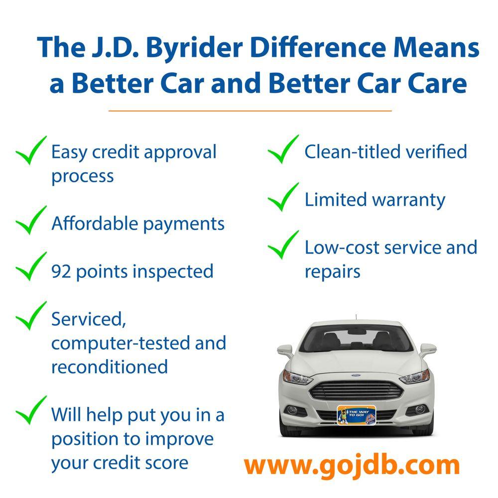 JD Byrider in Monroe | JD Byrider 1107 Oliver Rd, Monroe ...