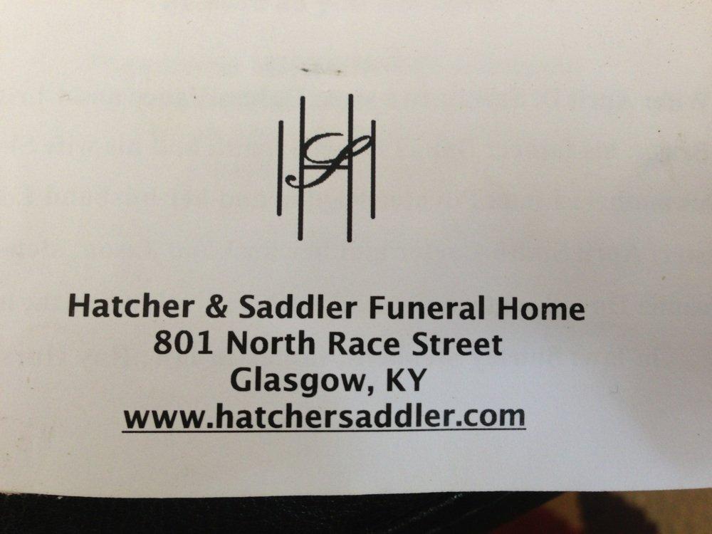 hatcher  u0026 saddler funeral home in glasgow