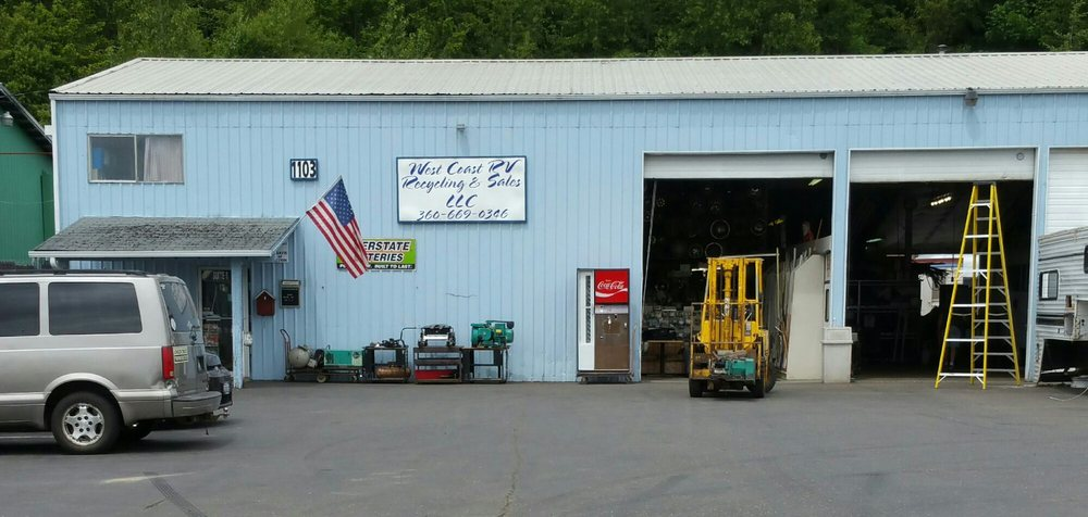 West Coast Rv Recycling Amp Sales In Centralia West Coast