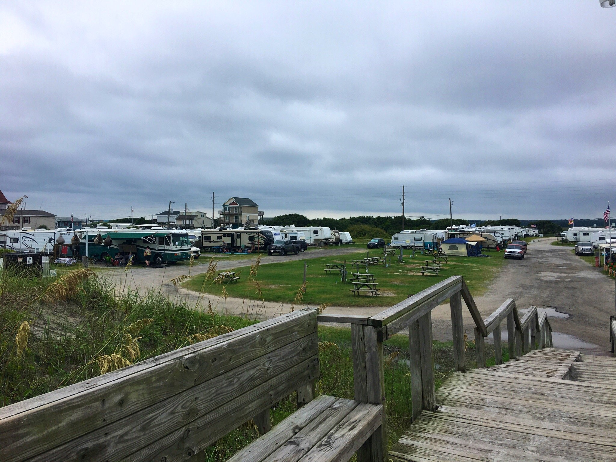 Surf City Family Campground In North Topsail Beach