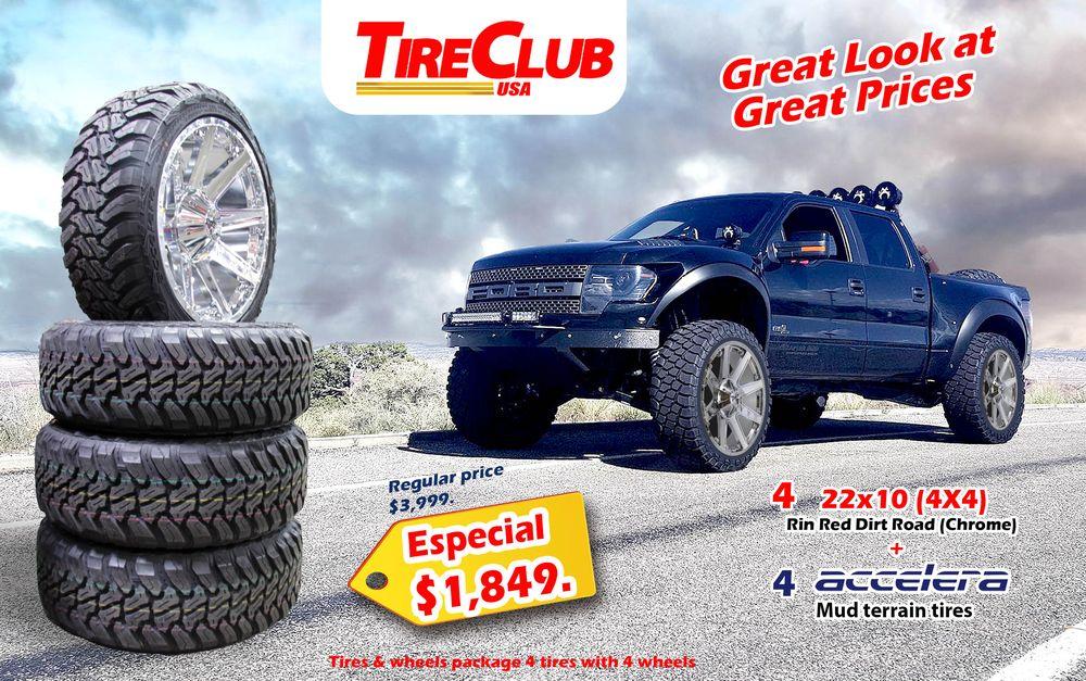 Tire Places Open Today >> Tire Club in El Paso | Tire Club 1136 Tony Lama St, El ...