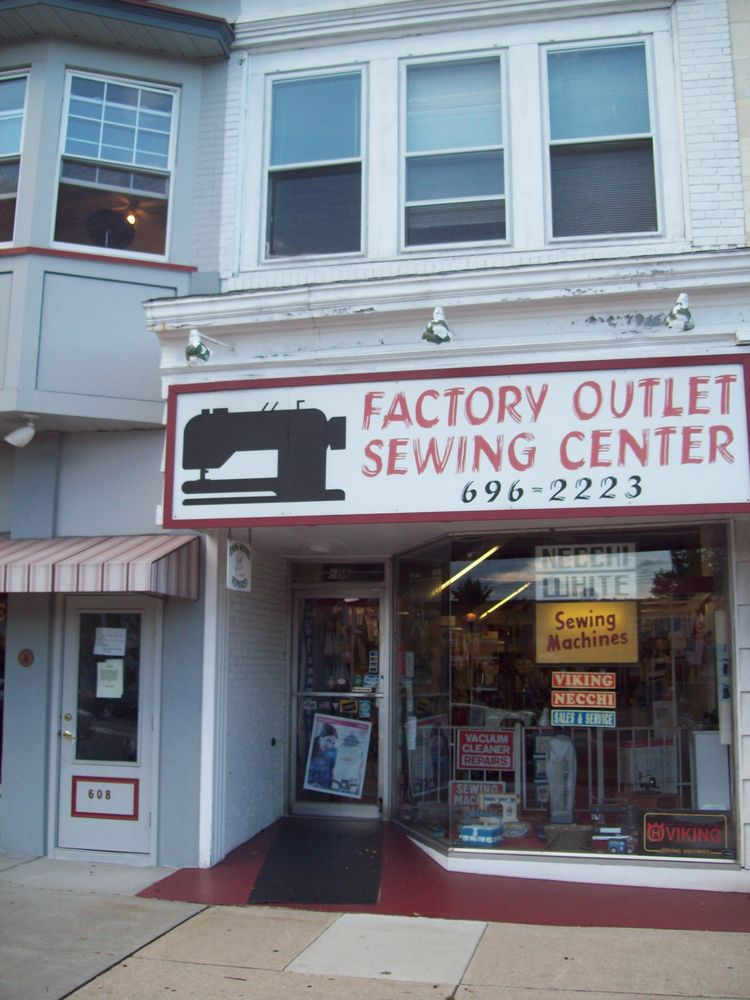 Factory Outlet Sewing Center In Vineland Factory Outlet