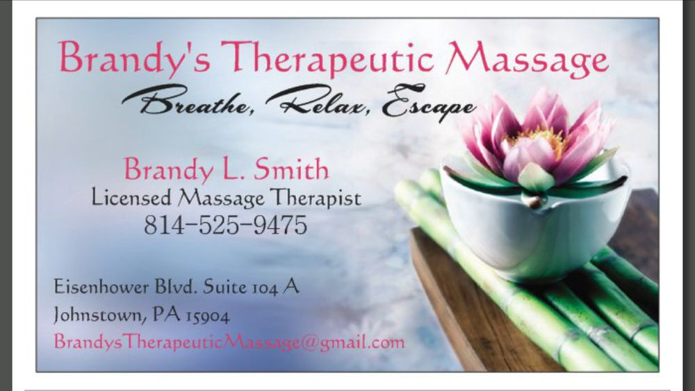 Brandy's Therapeutic Massage in Johnstown | Brandy's ...