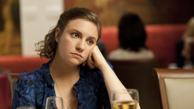 "Lena Dunham in ""Girls"""