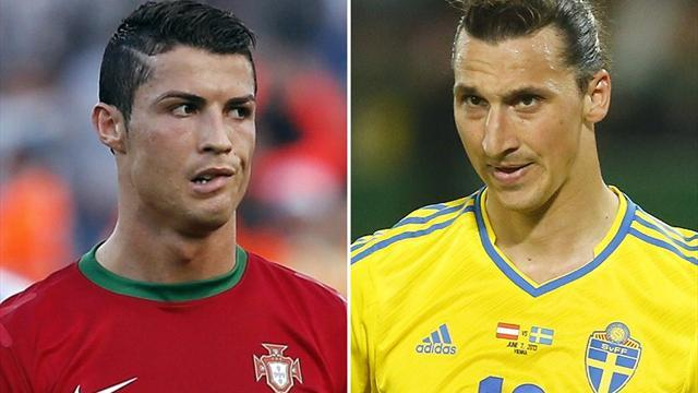 World Cup - Ronaldo and Ibrahimovic battle for World Cup spot