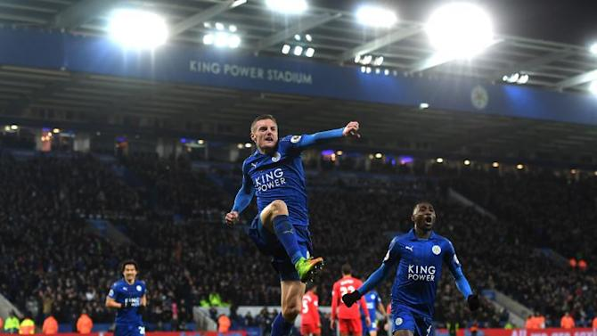 Leicester prove there's life after Claudio Ranieri as Jamie Vardy brace inspires victory over Liverpool