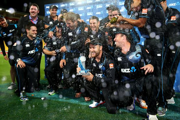 New Zealand v India - ODI: Game 5