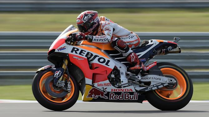 Motorcycling - Marc Marquez injures hand in training crash