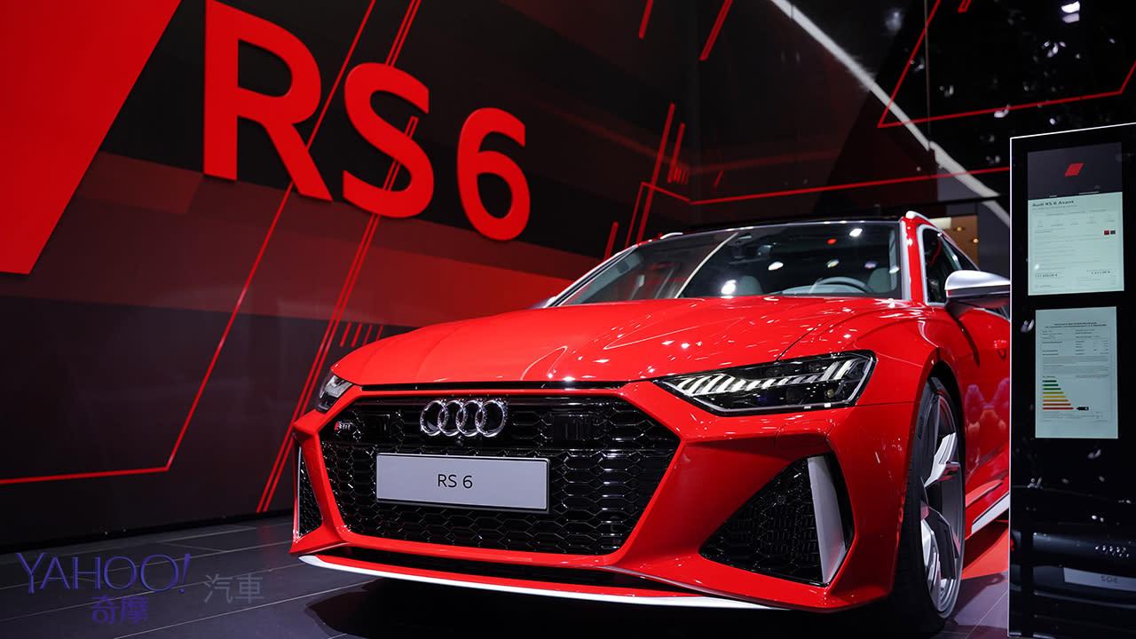 【2019法蘭克福車展】Audi最強Wagon旅行車款RS6 Avant嗆辣現身!