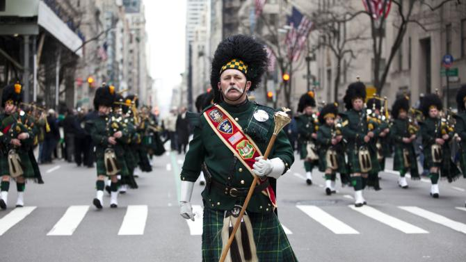 Annual St. Patrick's Day Parade Held In New York City