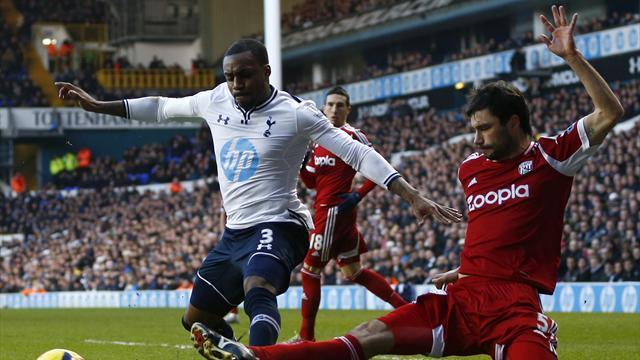 Premier League - Olsson strike rescues point for West Brom at Tottenham