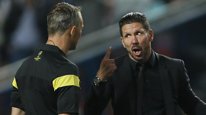 Champions League - Simeone's Atletico charges fall half-a-point short