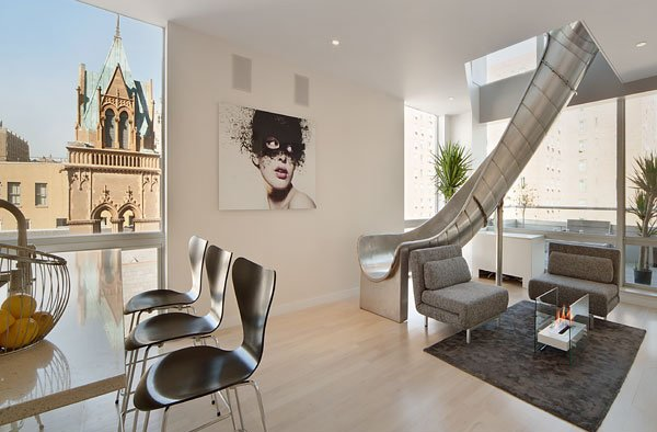 Luxury Homes With Bold Features A Slide A Disco And More
