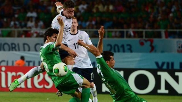 U-20 World Cup - Last-gasp Iraq snatch draw against England