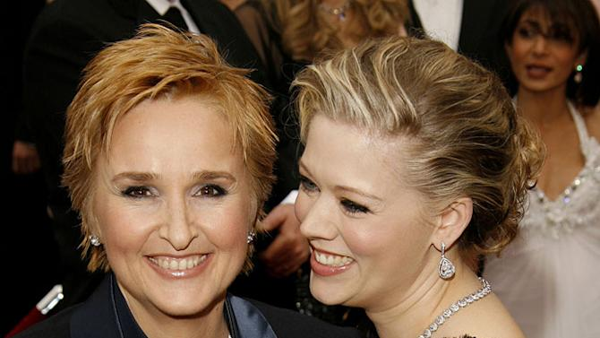 """Melissa Etheridge, nominee Best Music (Song) for """"I Need to Wake Up"""" from """"An Inconvenient Truth"""" and Tammy Lynn Michaels at The 79th Annual Academy Awards."""