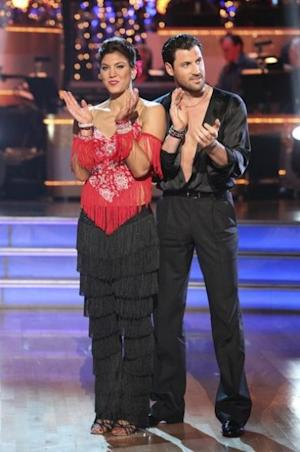 Hope Solo and Maksim Chmerkovskiy on 'Dancing with the Stars,' Nov. 8, 2011  -- ABC