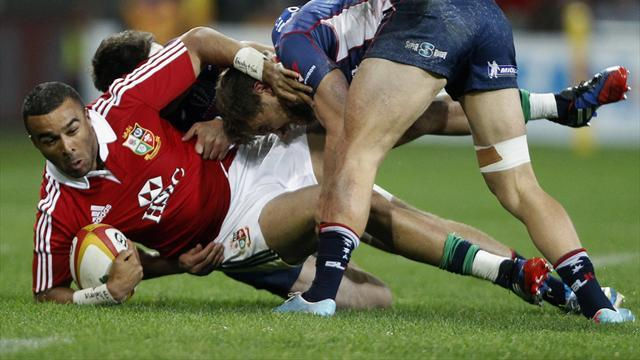 Lions Tour - Rebels' Mitchell banned for tackle on Lions' Zebo