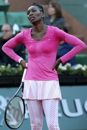 Wimbledon Venus Out Tennis