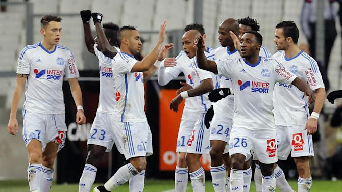 Ligue 1 - Marseille stay in title hunt with thumping win